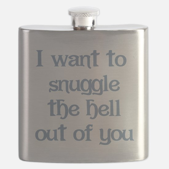 I Want to Snuggle You Flask