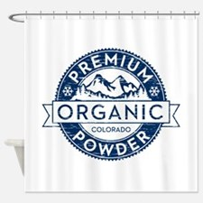 Colorado Powder Shower Curtain