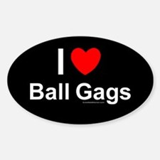 Ball Gags Decal