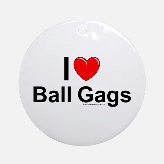 Ball Gags Ornament (Round)