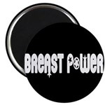 """Breast Power 2.25"""" Magnet (100 pack)"""