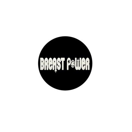Breast Power Mini Button (10 pack)