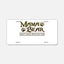 Cute Mommy Aluminum License Plate