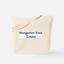 Hungarian Food lover Tote Bag