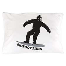 Bigfoot Rides Pillow Case