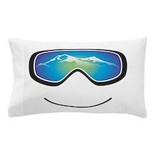 Happy Skier/Boarder Pillow Case