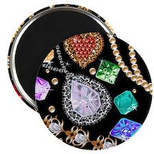 Dazzling gems Magnets
