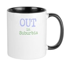 Out In Suburbia Mugs
