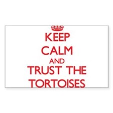 Keep calm and Trust the Tortoises Decal