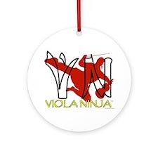 Viola Ninja Ornament (Round)