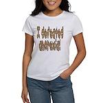 I beat Anorexia Women's T-Shirt