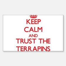 Keep calm and Trust the Terrapins Decal