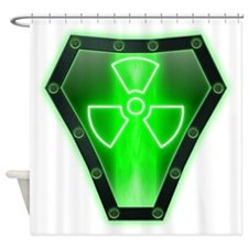 Radioactive Shower Curtain