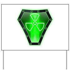 Radioactive Yard Sign