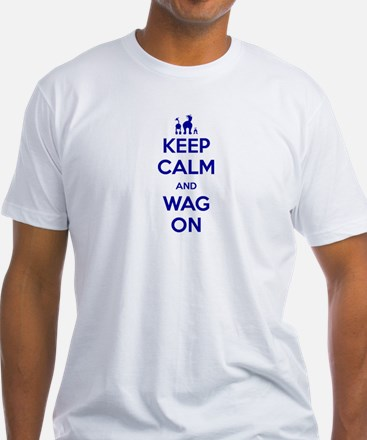 Keep Calm and Wag On Shirt