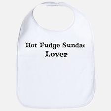 Hot Fudge Sundae lover Bib