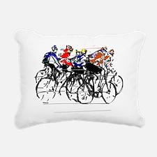 Tour de France Rectangular Canvas Pillow