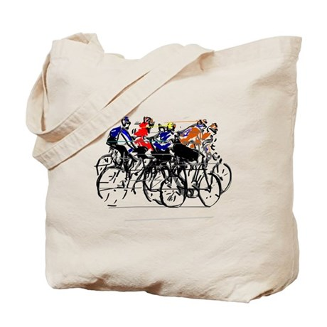 tour de france tote bag by listing store 21061594. Black Bedroom Furniture Sets. Home Design Ideas