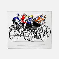 Tour de France Throw Blanket