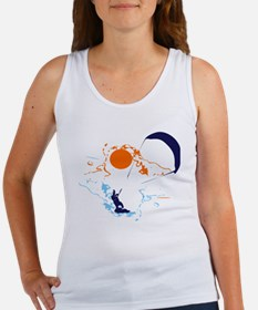 Kite Surfing Women's Tank Top