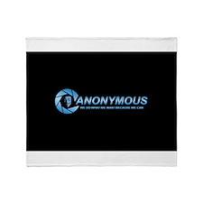 Anonymous Throw Blanket