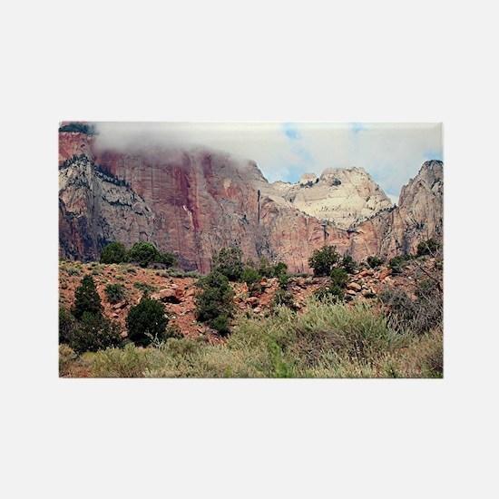 Zion National Park, Utah, USA 4 Rectangle Magnet