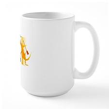 fighting with dragon Mug