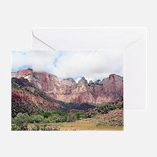 Zion National Park, Utah, USA 10 Greeting Card