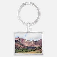 Zion National Park, Utah, USA 1 Landscape Keychain