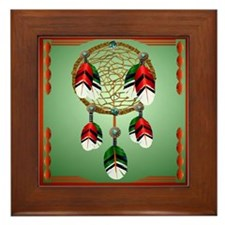 Dreamcatcher Framed Tile