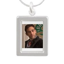 Nick Silver Portrait Necklace
