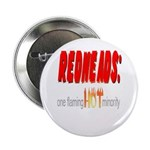 """Redheads are hot! 2.25"""" Button (10 pack)"""