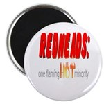 """Redheads are hot! 2.25"""" Magnet (100 pack)"""