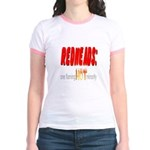 Redheads are hot! Jr. Ringer T-Shirt
