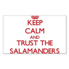 Keep calm and Trust the Salamanders Decal