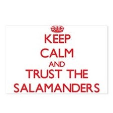 Keep calm and Trust the Salamanders Postcards (Pac