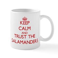 Keep calm and Trust the Salamanders Mugs