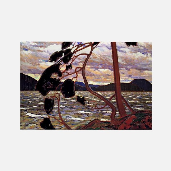 Tom Thomson - The West Wind Rectangle Magnet