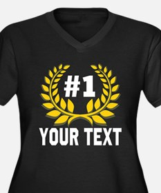 #1 Number One Mom Plus Size T-Shirt