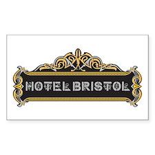 HOTEL BRISTOL Decal