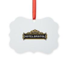 HOTEL BRISTOL Ornament