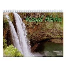 Kauai Aloha Wall Calendar