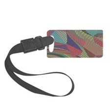 interwoven Luggage Tag