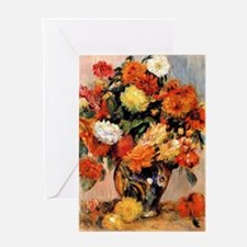 Renoir - Vase of Flowers, 1884 Greeting Card