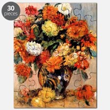 Renoir - Vase of Flowers, 1884 Puzzle