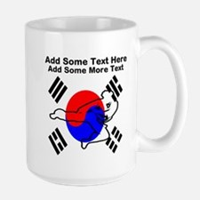 Taekwondo Personalized Large Mug