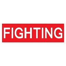 stop fighting Bumper Bumper Sticker