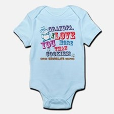Grandpa I Love You More Than Cookies! Body Suit