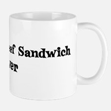 Barbecued Beef Sandwich lover Mug