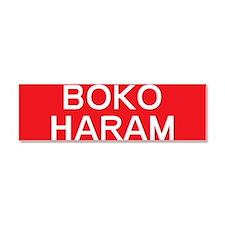 stop boko haram Car Magnet 10 x 3